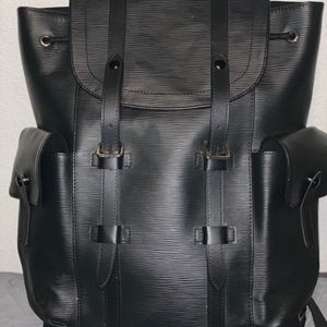 Louis Vuitton Christopher PM Leather Backpack